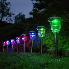 Solar Lights Outdoor Garden Design Of Solar Powered Patio Lights Exterior Design Pictures