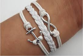 anchor bracelet charms images Cross infinity anchor arrow bird bracelet bracelets hipsters png