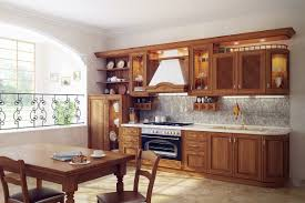 Open Kitchen Cabinet Designs Kitchen Kitchen Dining Designs With Natural Wood Kitchen Cabinet