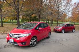 nissan versa vs hyundai accent subcompact hatchback head to head honda fit and nissan versa note
