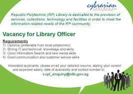 Date Of Availability Resume Library Officer