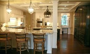 kitchen island with columns columns in kitchen moute