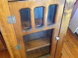 glass door medicine cabinet vintage wooden wood antique two glass door medicine cabinet chest