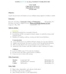 nanny caregiver resume examples unique resumes that work examples of resumes choose for work free