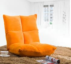 Orange Sofa Chair Amazon Com Merax Fully Adjustable Five Position Multiangle Floor