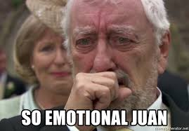 Meme Generator Crying - so emotional juan old man crying meme generator