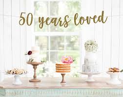 50th wedding anniversary decorations 50th wedding anniversary decorations etsy