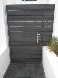 Modern Wood Planter by Side Gate Ideas Love The Planter To Block My Neighbors Crap 4