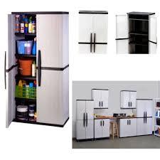 Plastic Storage Cabinet Bathroom Mesmerizing Rubbermaid Plastic Storage Cabinets For