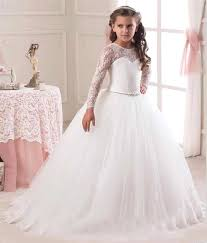 communion dresses on sale hot sale 2017 sleeve flower girl dresses for weddings lace