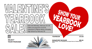 yearbook sale hilliard bradley high school special s yearbook sale