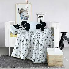 cartoon batman print bedding set for babies toddlers kids 3 4pcs