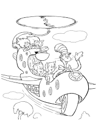 cat in the hat coloring pages to print mediafoxstudio com