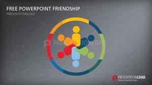 presentationload free powerpoint template friendship
