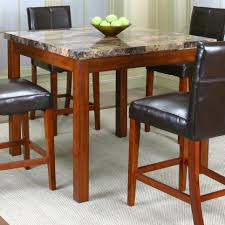 furniture bar stools and table set counter height pub table set