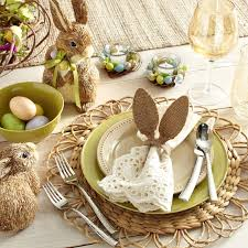 Easter Table Decorations For Dinner by