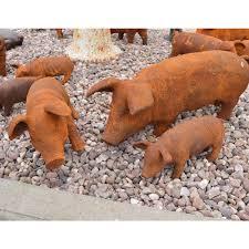 cast iron pig collection sculptures statues shop