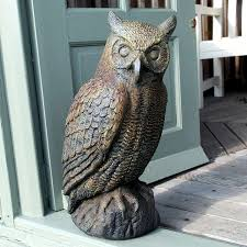 lovely large owl garden ornament