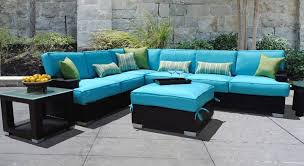 Sectional Patio Furniture Sets Outdoor Garden Resin Wicker Sectional Patio Furniture Set With