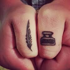 feather pen and inkwell tattoo ideas tatluv tatluv