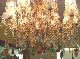Amber Chandelier Gorgeous Crystal