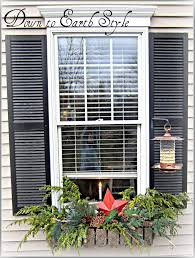 Christmas Decorations For Window Boxes by 66 Best Christmas Window Box Images On Pinterest Christmas Ideas