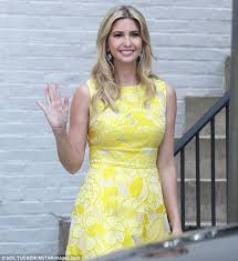 Ivanka Trump Wedding Ring by Ivanka Trump Gets Glammed Up For Day At The Office Daily Mail Online