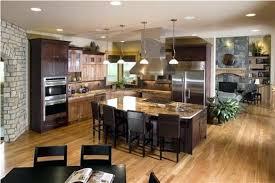 open kitchen floor plans pictures open floor plan kitchen design ideas in best 2 40270