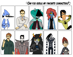 Meme Characters - can you guess my favorite characters meme by forestbugda on deviantart