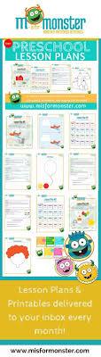 preschool is planning activities numbers lesson plan math