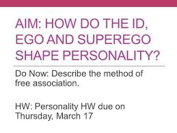 Thesis on the id ego and superego