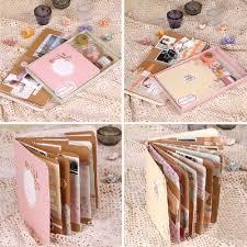 cheap photo album memory planner handmade spiral bound photo scrapbook album kit diy