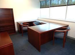 Office Desk U Shape Office Desk U Shaped Wrap Around Solid Wood Executive Furniture