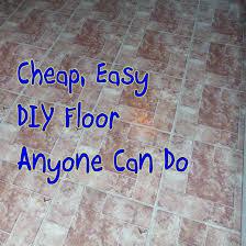 how to lay peel and stick vinyl tile flooring dengarden