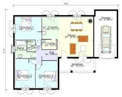plan maison 4 chambres plain pied gratuit plan maison plain pied gratuit 3 chambres con e sucessoemforex info