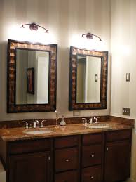 Double Sink Vanities For Small Bathrooms by Bathroom Elegant Mirrored Bathroom Vanity With Granite Top And