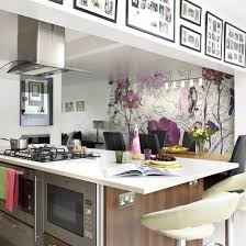 contemporary kitchen wallpaper ideas statement kitchen wallpaper and photos madlonsbigbear com