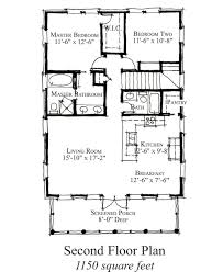 Country Farmhouse Floor Plans by Country Style House Plan 2 Beds 2 Baths 1150 Sq Ft Plan 464 16