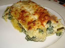 cuisine italienne cannelloni cannellonis aux épinards et à la ricotta cuisine italienne