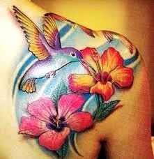 Flower And Bird Tattoo - 55 amazing hummingbird tattoo designs hummingbird tattoo flower