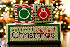 diy tutorial christmas countdown blocks see vanessa craft
