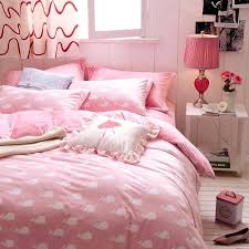 flannelette duvet cover double rosebud pink flannel with regard to