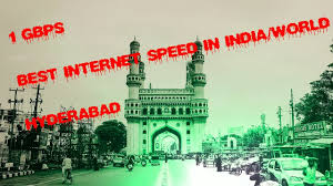 act fibernet fastest internet in india 1 gbps hyderabad has the