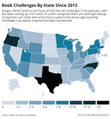 Challenge Huffington Post Banned Books By The Numbers Infographics Huffpost