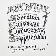 in godliness a guide to prayer acts adoration confession