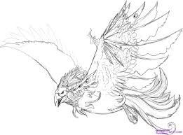 how to draw a water phoenix step by step phoenix fantasy free