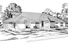 Spanish Style House Plans Spanish Style House Plans Santa Maria 11 033 Associated Designs