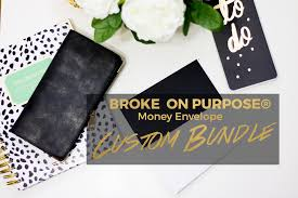 create your own on purpose money envelope bundle on
