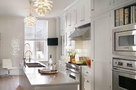 transitional kitchen design bilotta ny