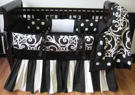 Black And White Crib Bedding Set Black White Self Help Inspirational Pinterest Bed Sets